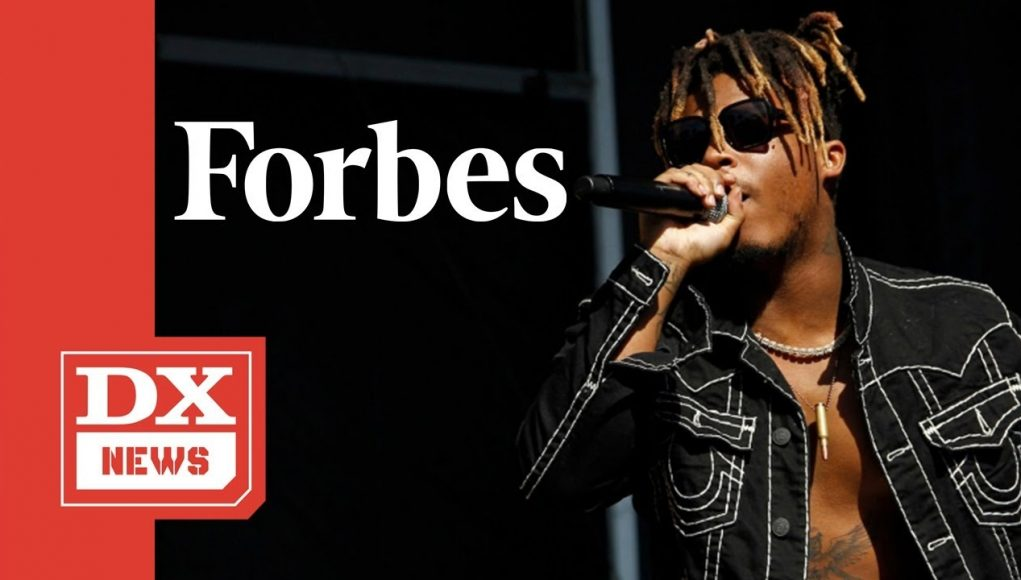 Juice Wrld Lands At No.7 On Forbes' '2020 Highest Paid Dead Celebrities' List