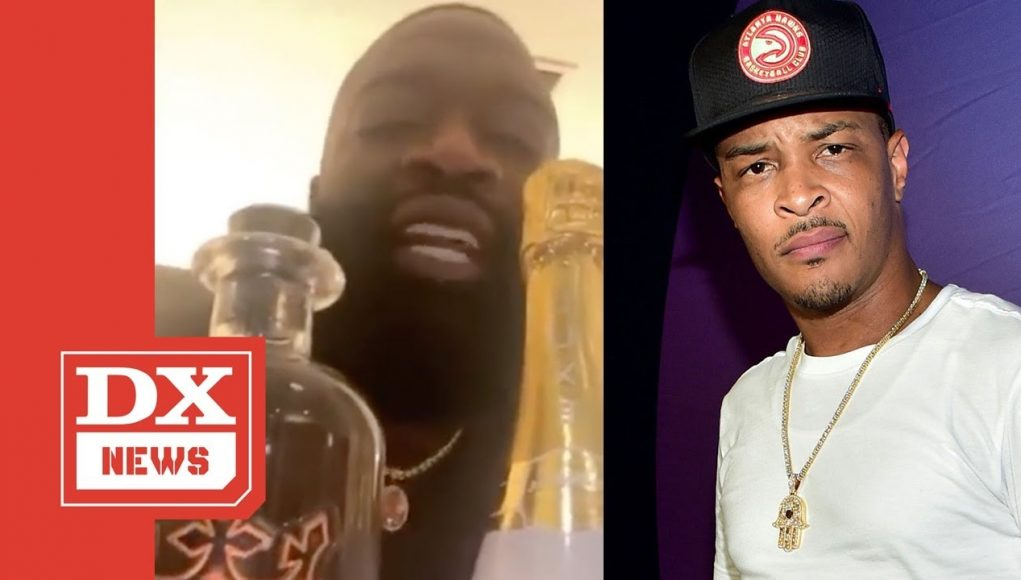 Rick Ross Calls Out T.i. On Instagram