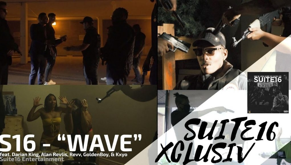 S16 Wave (feat. Darian King, Alan Revlis, Revv, Goldenboy, & Kxyo) [official Music Video]