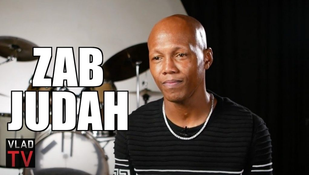 Zab Judah Demonstrates A Good Jab, Asked If Larry Holmes Had Best Jab Ever (part 22)