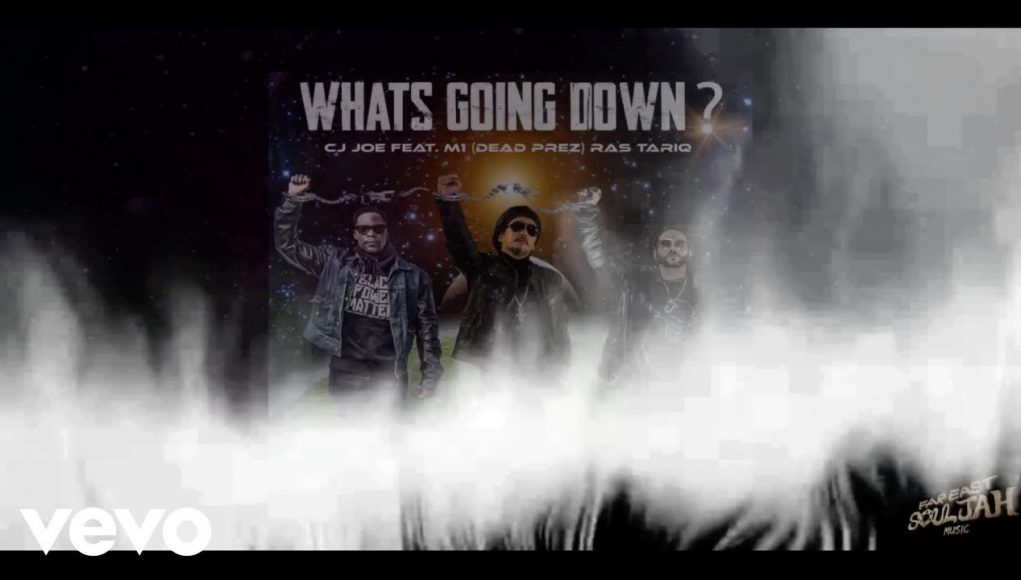 Cj Joe What's Going Down? (official Lyric Video) Ft. M1 (dead Prez), Ras Tariq