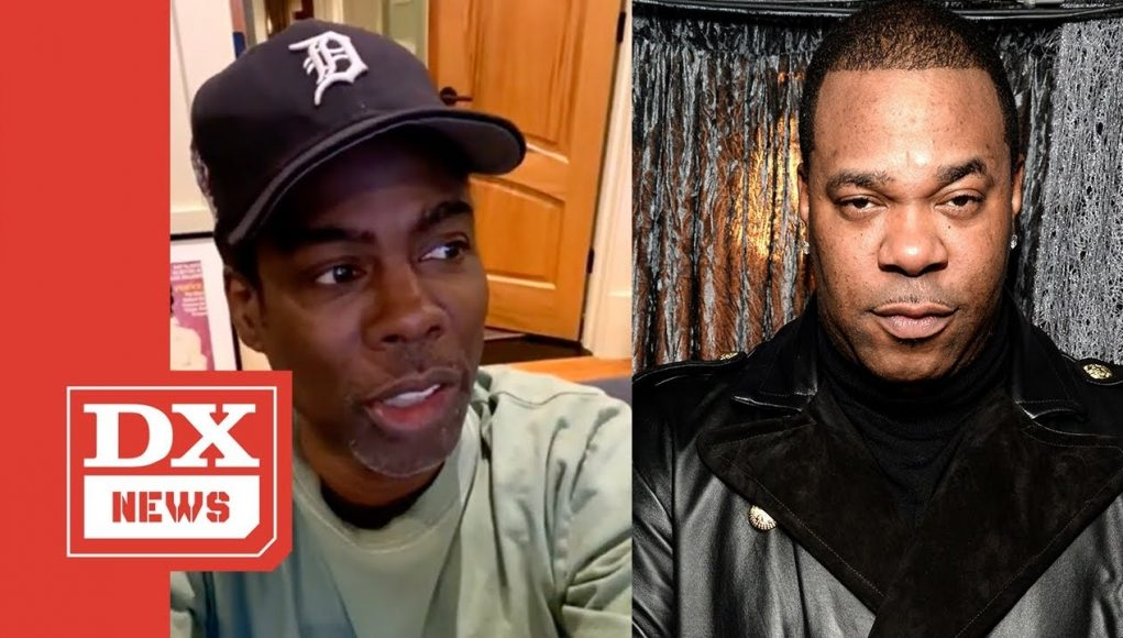 """Chris Rock Recalls Busta Rhymes Carrying Him Out Of Jam Master Jay's Funeral: """"i Was Crying So Hard"""""""