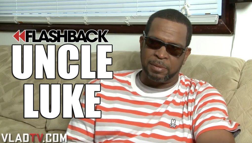 Uncle Luke Addresses Aaron Hall's Claim On Meeting Gloria Velez (flashback)
