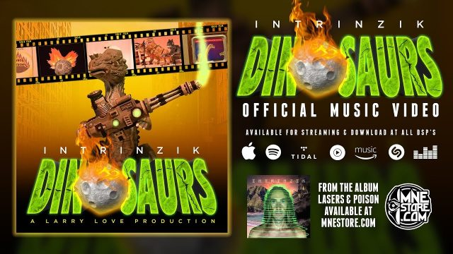 intrinzik dinosaurs (official animated music video)