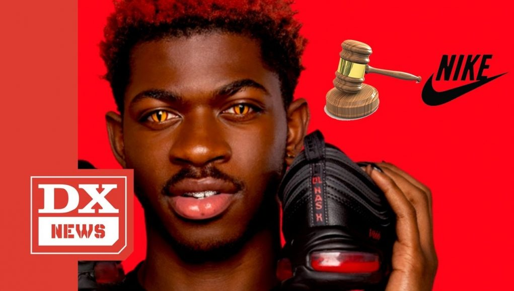 """this is why nike decided to sue mschf for their """"satan shoes"""" collab with lil nas x"""