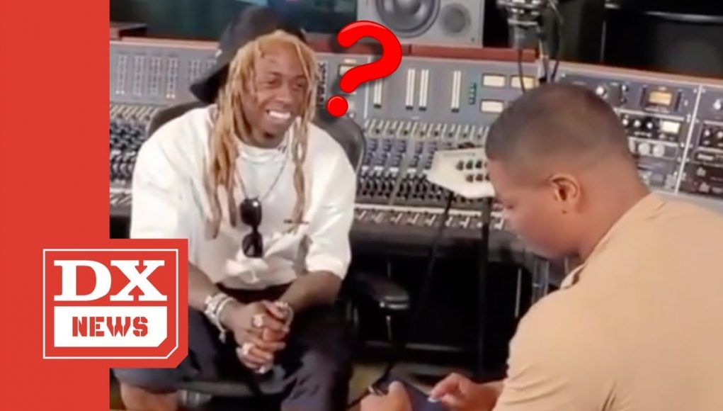 """lil wayne completely forgets his """"better wear a latex"""" rap bar & immediately impresses himself by it"""
