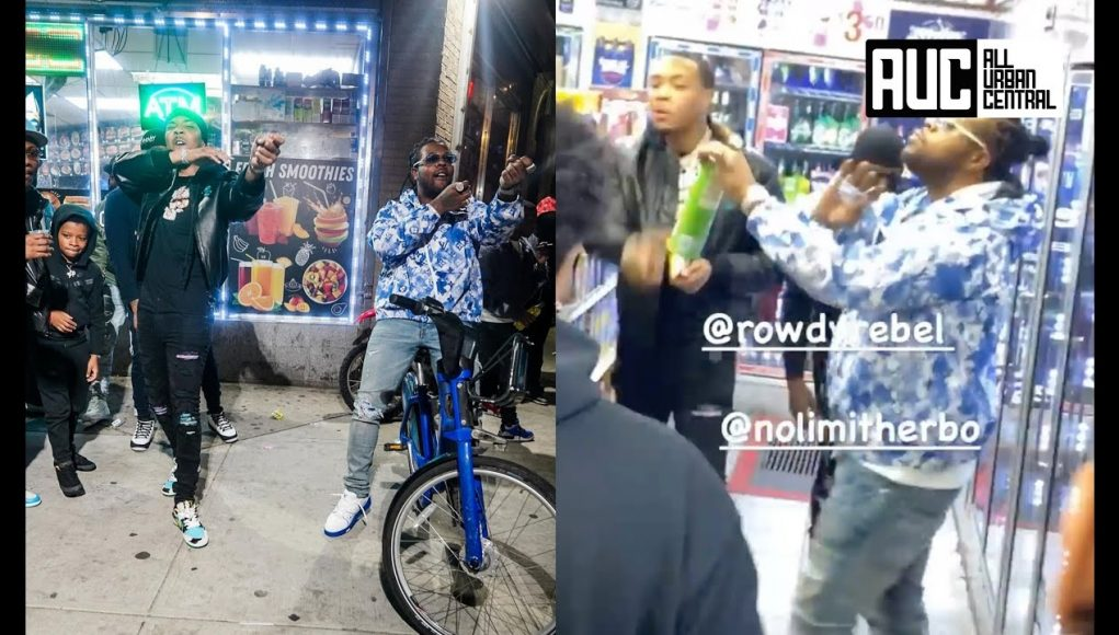 g herbo pulls up on rowdy rebel in the trenches of south harlem