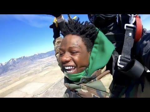 jackboy jumps 14,000 feet out a plane