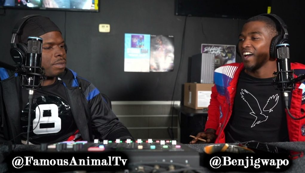 benji gwapo speaks on being shot 7 times, robbery charges & friend snitching