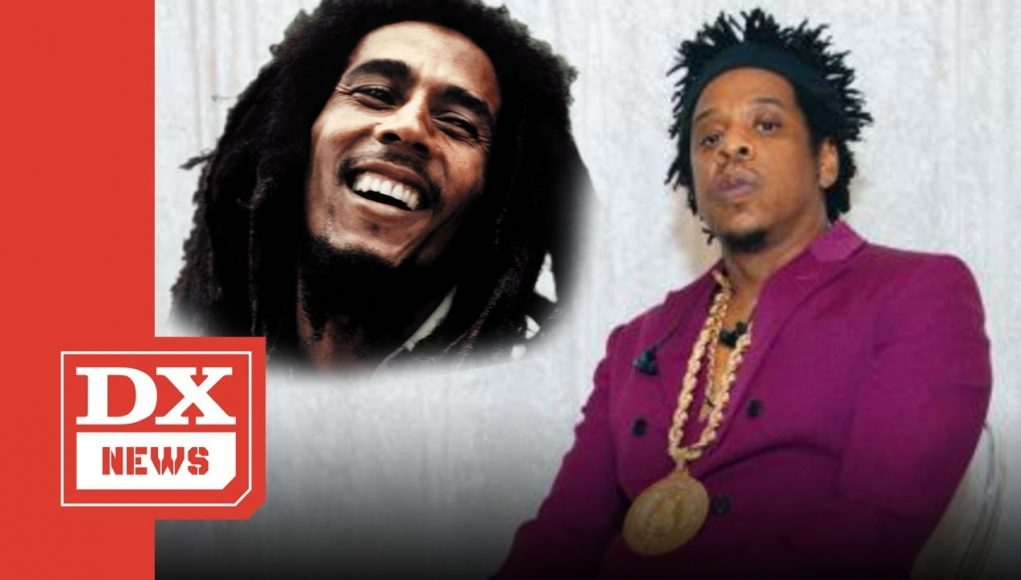 jay z wants to have a legacy like bob marley