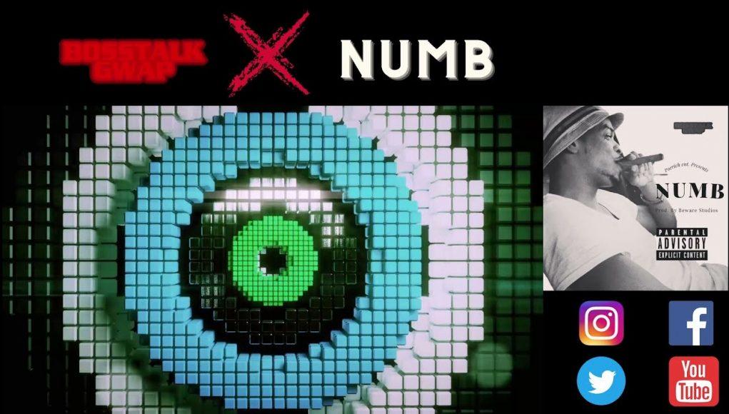 (visualizer + audio) numb by bosstalk gwap